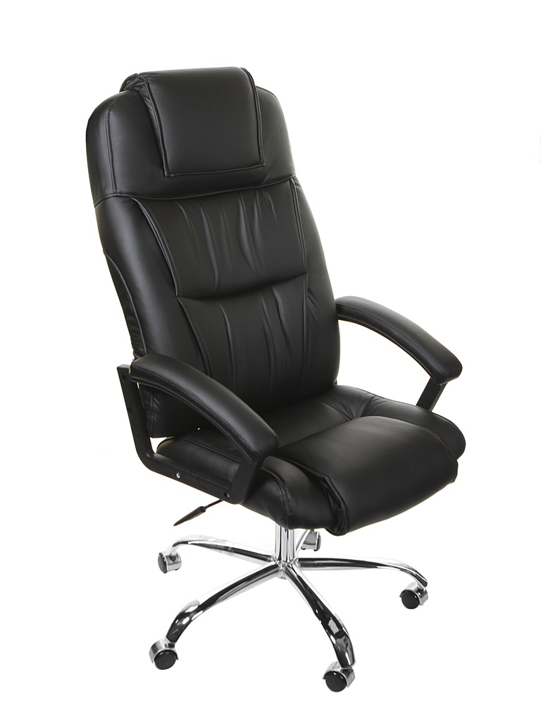 Компьютерное кресло TetChair Bergamo хром Black 9517  - купить со скидкой