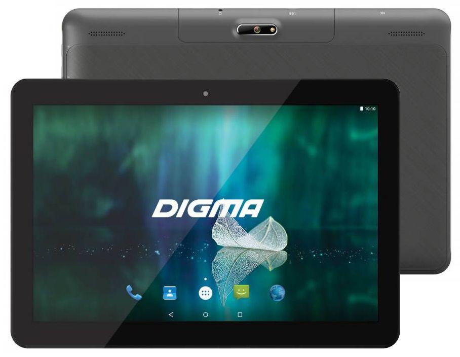 планшет asus zenpad z301mfl 10 32gb lte grey 1h006a Планшет Digma Plane 1526 4G Black (MediaTek MTK8735M 1.0 GHz/1024Mb/16Gb/Wi-Fi/LTE/Bluetooth/GPS/Cam/10.1/1280x800/Android)