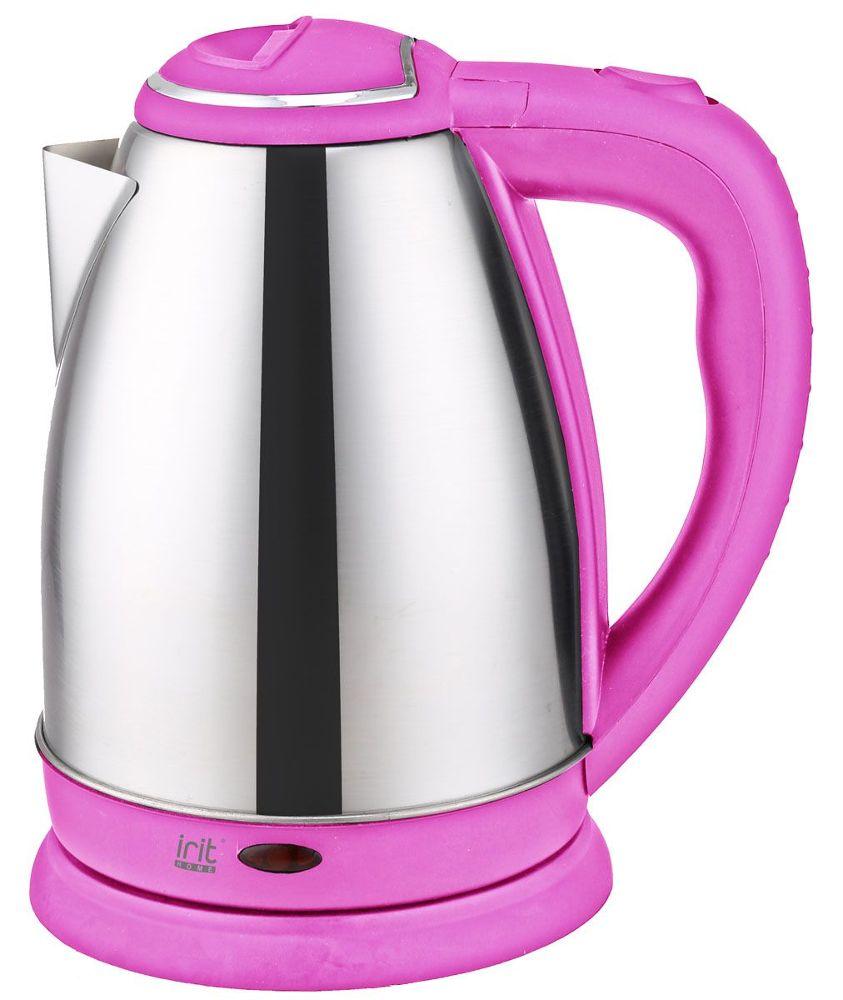 Фото - Чайник Irit IR-1337 1.8L Pink чайник irit ir 1603 белый желтый