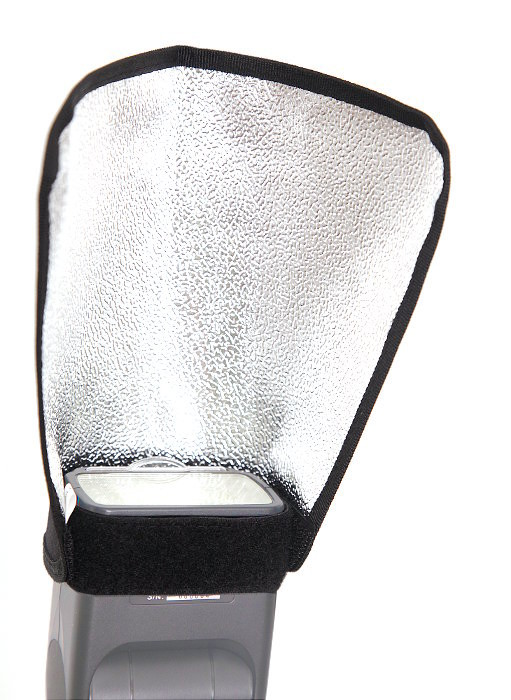 Фото - Отражатель Raylab RPF-BR1925-S Silver для накамерной вспышки софтбокс raylab rpf sb1014 s silver