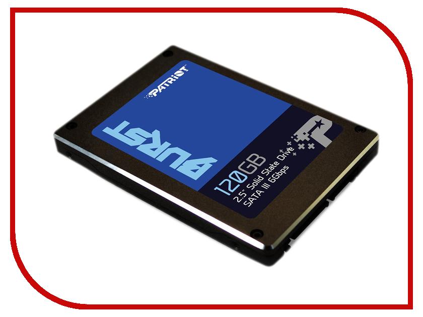 Купить Жесткий диск 120Gb - Patriot Memory Burst PBU120GS25SSDR