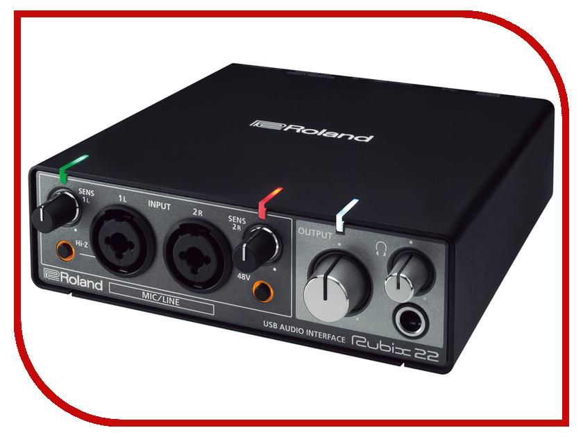 Купить Аудиоинтерфейс Roland Rubix22