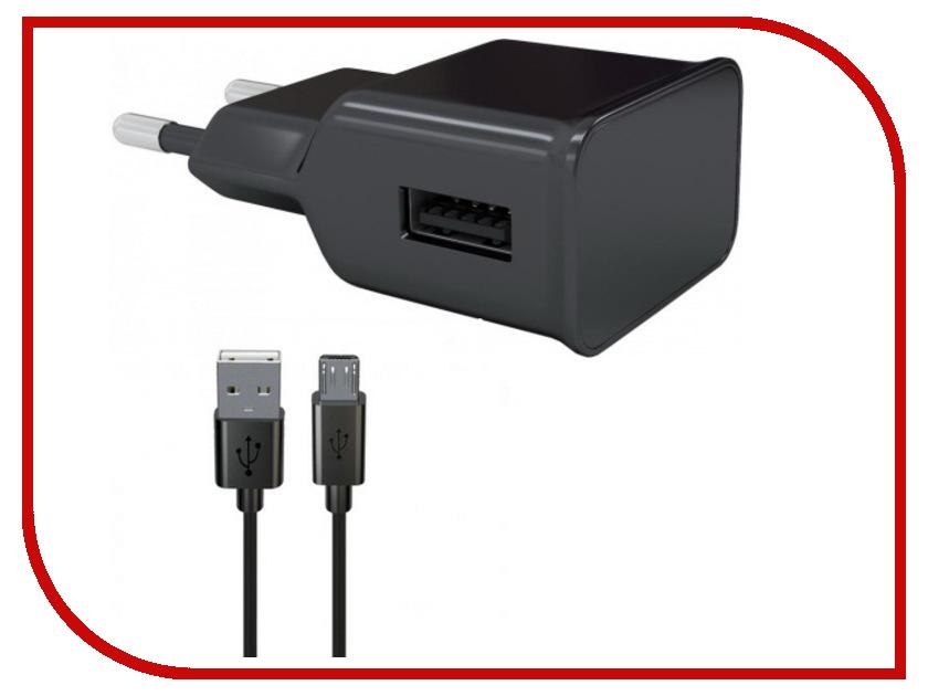 Купить Зарядное устройство Red Line NT-1A 1xUSB 1A + кабель MicroUSB Black УТ000013624