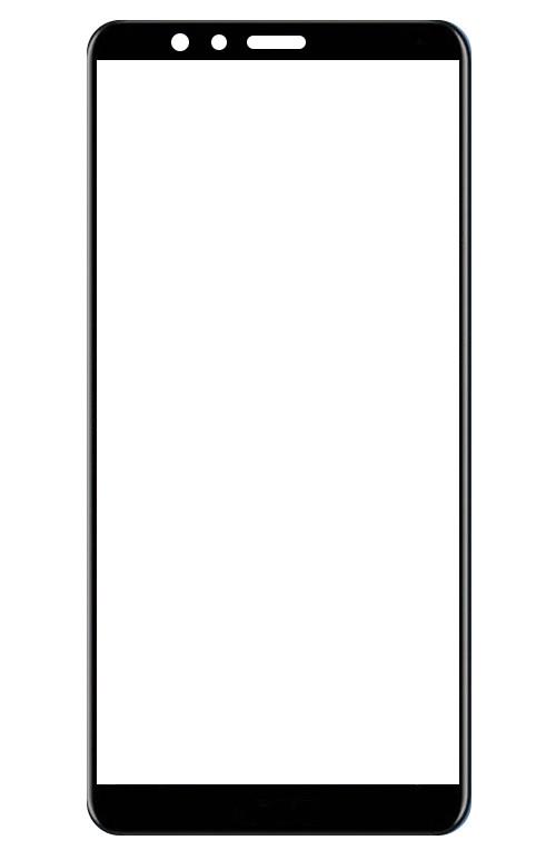 аксессуар закаленное стекло df для honor 9 lite full screen hwcolor 36 gray Аксессуар Закаленное стекло DF для Honor 7X Full Screen hwColor-24 Black