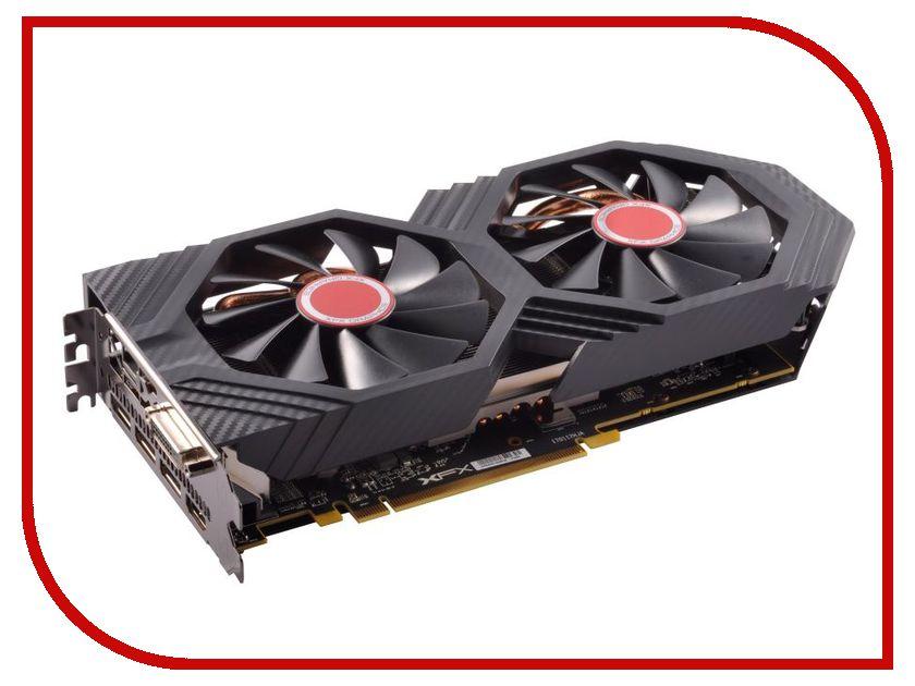 Видеокарта XFX Radeon RX-580 1366MHz PCI-E 4096Mb 7000Mhz 256 bit HDMI DVI-D RX-580P4DFD6
