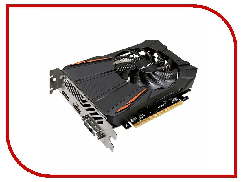 Видеокарта GigaByte Radeon RX 560 OC 4G 1189Mhz PCI-E 3.0 4096Mb 7000Mhz 128 bit DVI HDMI GV-RX560OC-4GD