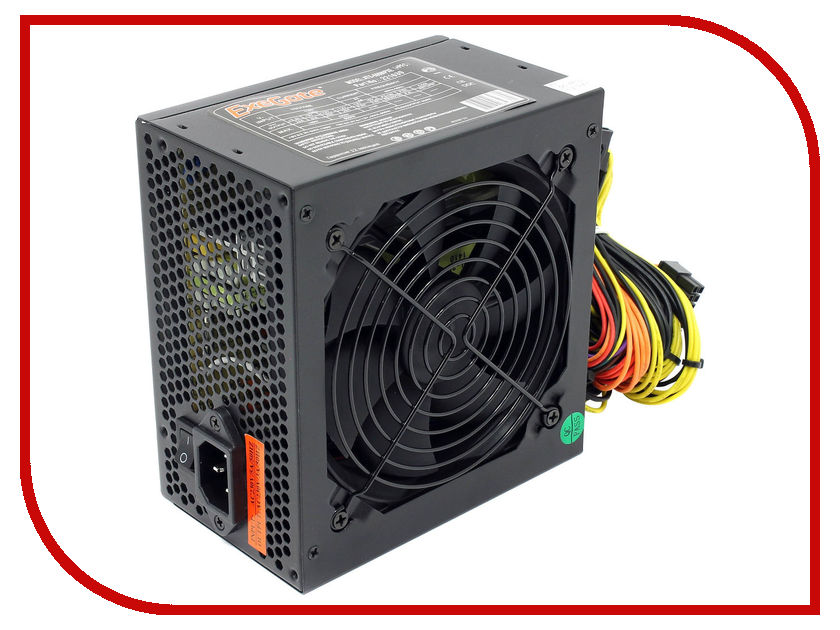Купить Блок питания ExeGate ATX-600NPXE +PFC 600W Black