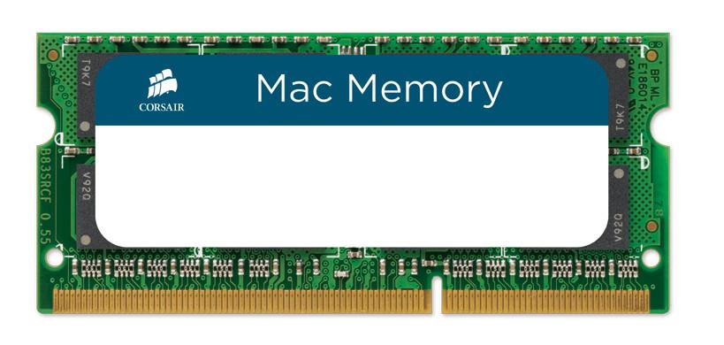 Модуль памяти Corsair Mac Memory DDR3 SO-DIMM 1066MHz PC3-8500 CL7 - 4Gb CMSA4GX3M1A1066C7