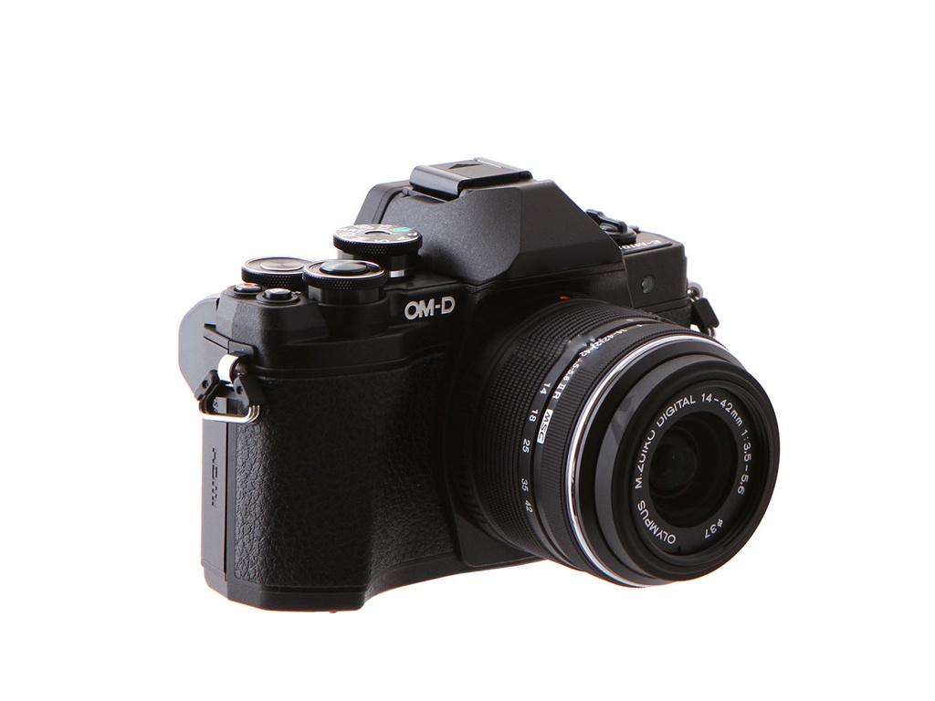 купить фотоаппарат olympus tg 3 Фотоаппарат Olympus OM-D E-M10 Mark III Kit 14-42 mm II R Black