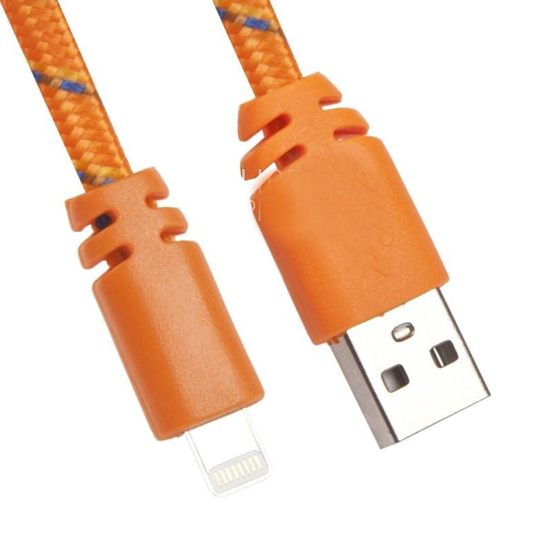 Аксессуар Liberty Project Кабель USB - Lightning Orange 0L-00030335