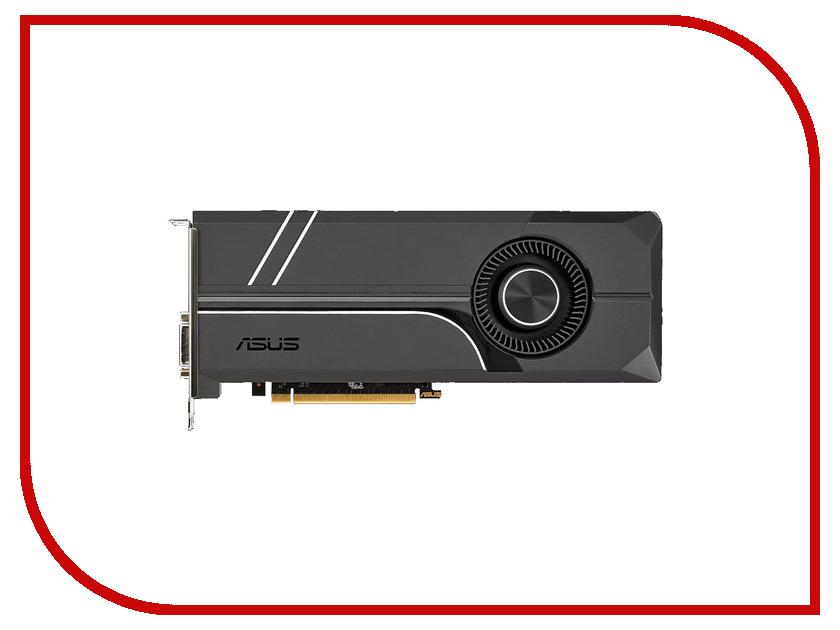 Видеокарта ASUS GeForce GTX 1070 Ti 1607Mhz PCI-E 3.0 8192Mb 8008Mhz 256 bit DVI 2xHDMI HDCP TURBO-GTX1070TI-8G