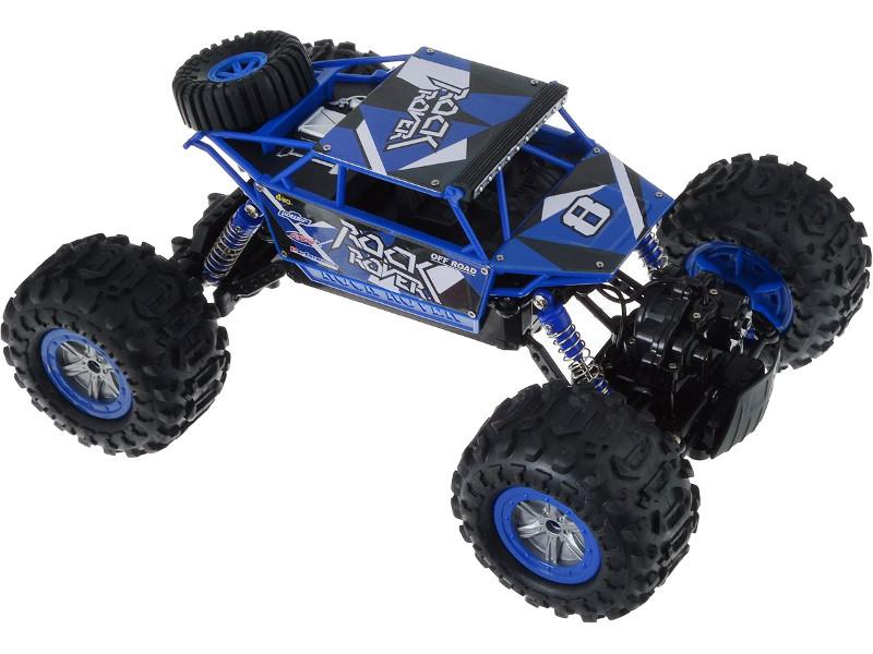 Радиоуправляемая игрушка Пламенный мотор Краулер-Амфибия ПМ-004 4WD Blue 870231