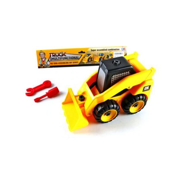 игрушка наша игрушка погрузчик вилочный 6655 7 Конструктор Shantou Gepai / Наша игрушка Трактор CXL200-7