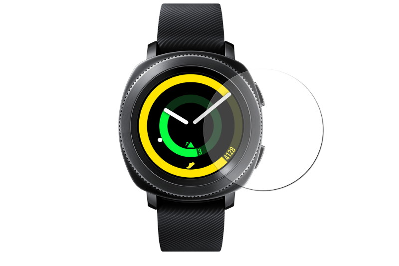 часы цена самсунг gear s Аксессуар Защитное стекло Samsung Gear Sport Mobius