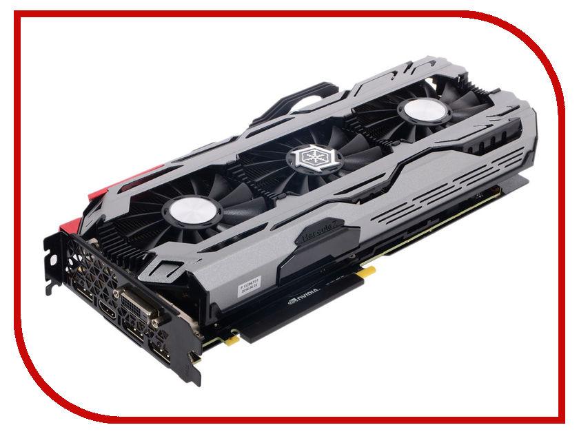 Видеокарта Inno3D GeForce GTX 1070 iChill X4 1620Mhz PCI-E 3.0 8192Mb 8200Mhz 256 bit 3xDP DVI HDMI HDCP C107V4-1SDN-P5DNX