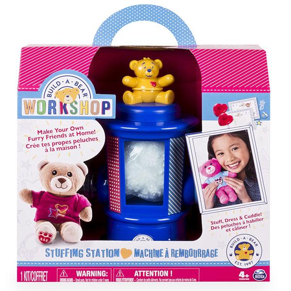 игрушки для детей машинки Набор для творчества Spin Master Build-a-Bear Студия мягкой игрушки 90303