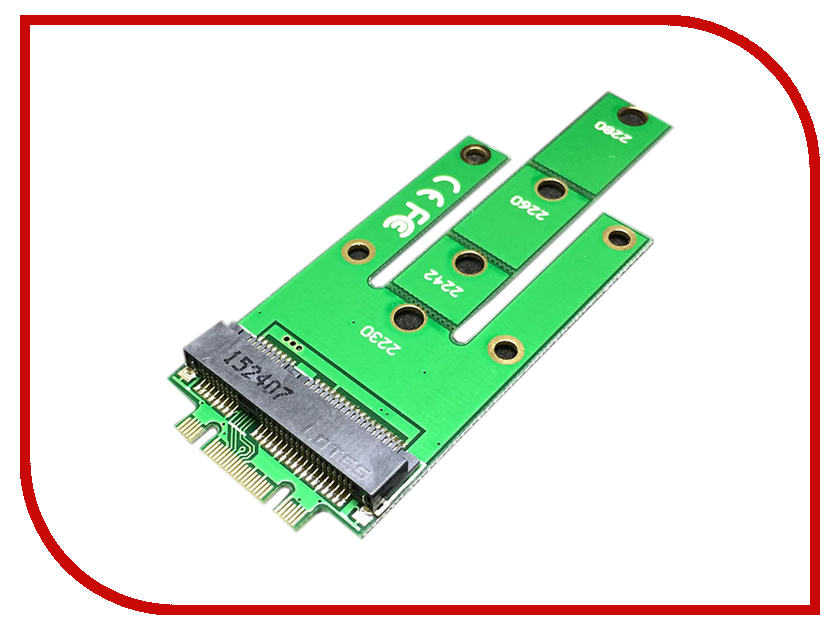 Купить Аксессуар Переходник Espada SSD M.2 NGFF to mSATA NmS 41456, SSD M.2 (NGFF) to mSATA