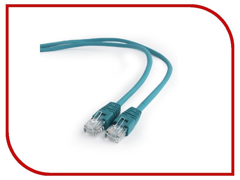 Купить Сетевой кабель Gembird Cablexpert UTP cat.5e 0.25m Green PP12-0.25M/G
