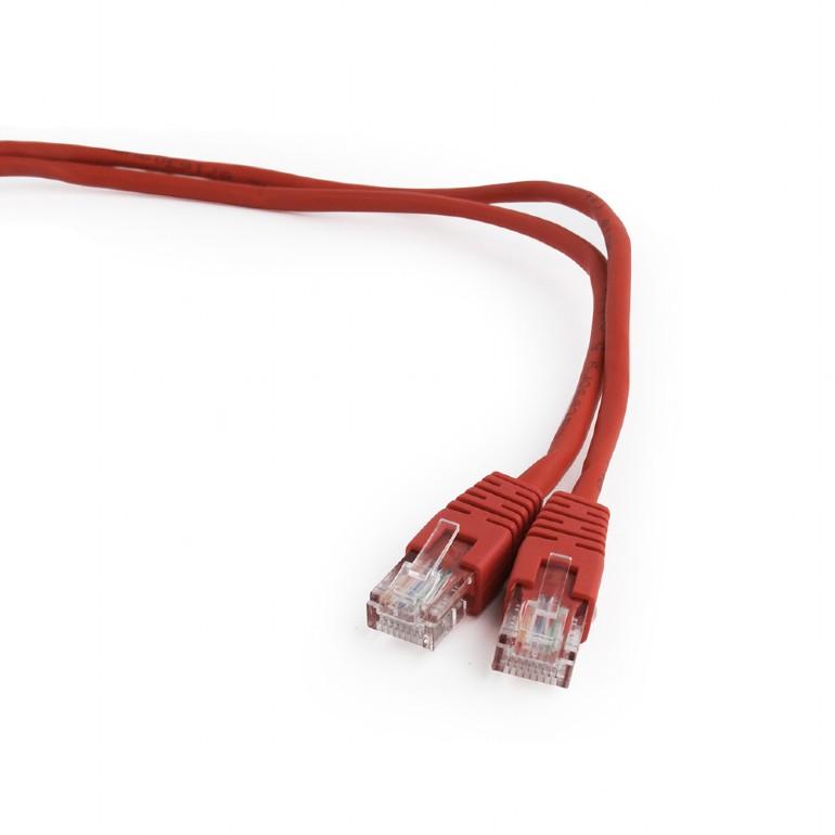 Купить Сетевой кабель Gembird Cablexpert UTP cat.5e 0.25m Red PP12-0.25M/R