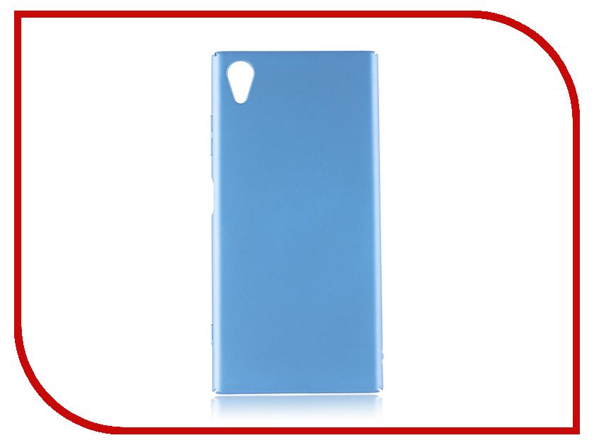 Купить Аксессуар Чехол для Sony Xperia XA1 Plus Brosco Blue XA1P-4SIDE-ST-BLUE