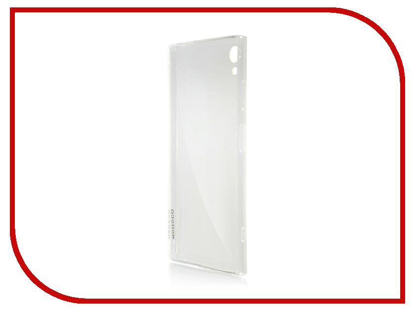 Купить Аксессуар Чехол для Sony Xperia XA1 Plus Brosco Silicone Transparent XA1P-TPU-TRANSPARENT