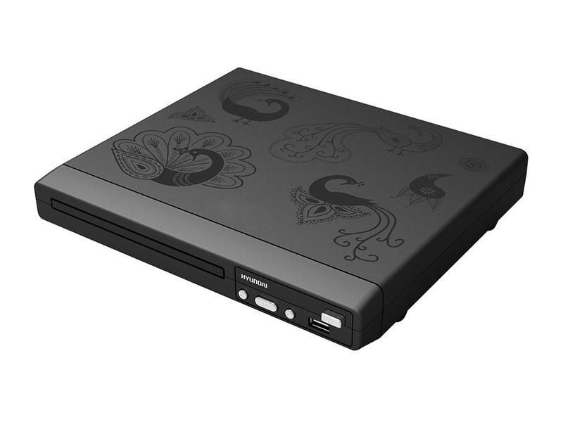 Плеер Hyundai H-DVD120 Black