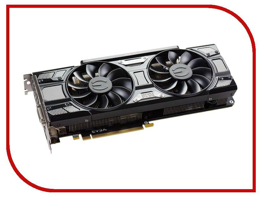 Видеокарта EVGA GeForce GTX 1070 1594Mhz PCI-E 3.0 8192Mb 8008Mhz 256 bit DVI HDMI HDCP 08G-P4-5173-KR