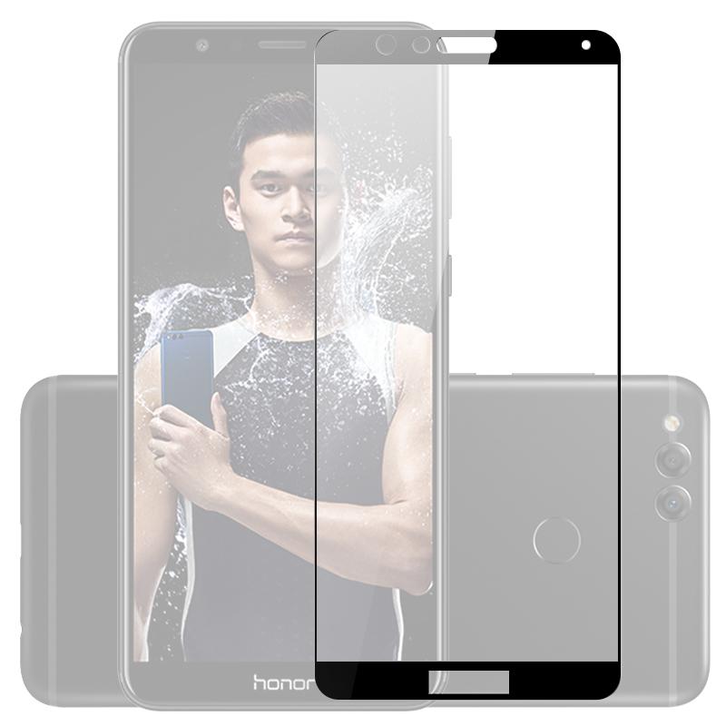 аксессуар защитное стекло mobius для xiaomi mi max 2 3d full cover black Аксессуар Защитное стекло Mobius для Honor 7X 3D Full Cover Black