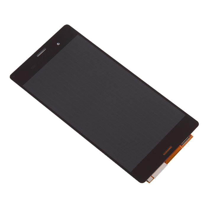 z3 plus Дисплей RocknParts Zip для Sony Xperia Z3 D6603 Black 393893