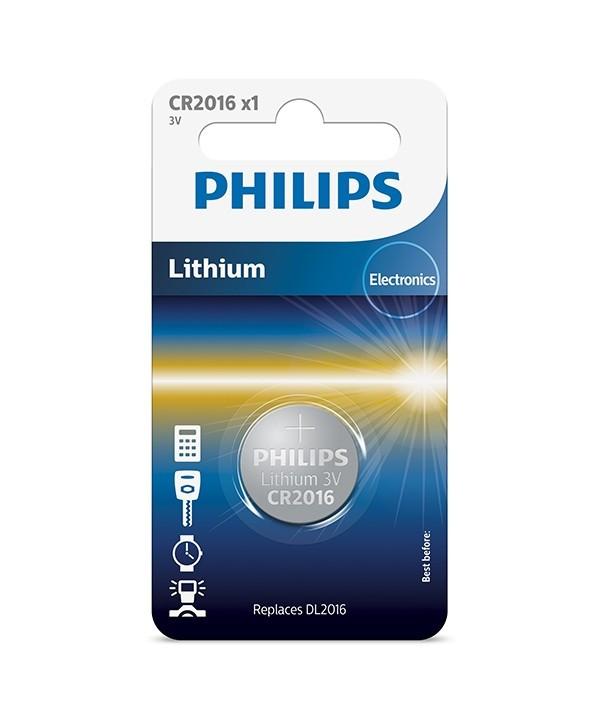 Купить Батарейка CR2016/01B Philips Lithium 3.0V ( 1 штука )