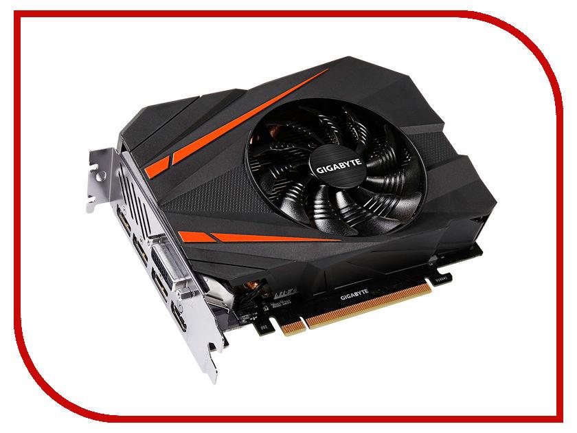 Видеокарта GigaByte GTX 1080 Mini ITX 8G 1607Mhz PCI-E 3.0 8192Mb 10010Mhz 256 bit DVI HDMI GV-N1080IX-8GD