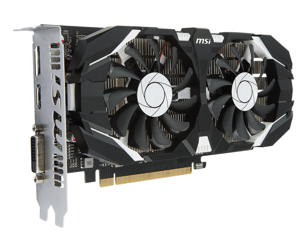 цена видеокарты gtx 650 Видеокарта MSI GeForce GTX 1050 1404Mhz PCI-E 3.0 2048Mb 7008Mhz 128 bit DVI DP HDMI HDCP GTX 1050 2GT OCV1