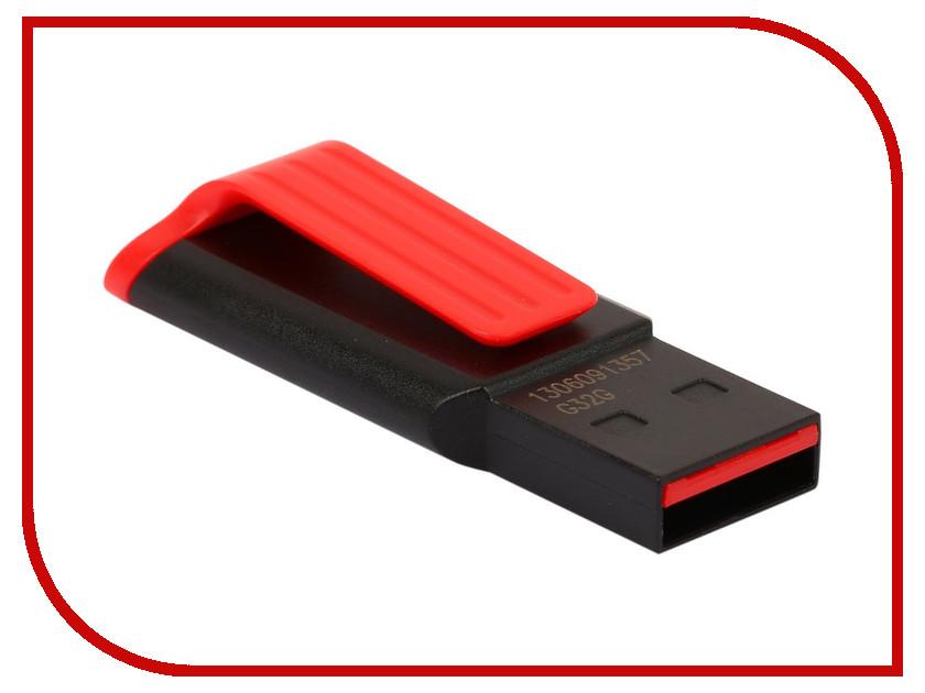 Купить USB Flash Drive 32Gb - A-Data UV140 USB 3.0 Black-Red AUV140-32G-RKD