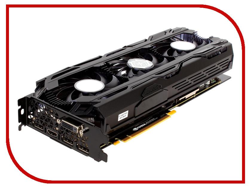 Видеокарта Inno3D GeForce GTX 1080 Ti iChill X3 Ultra 1607Mhz PCI-E 3.0 11264Mb 11400Mhz 352 bit DP DVI HDMI HDCP C108T3-1SDN-Q6MNX
