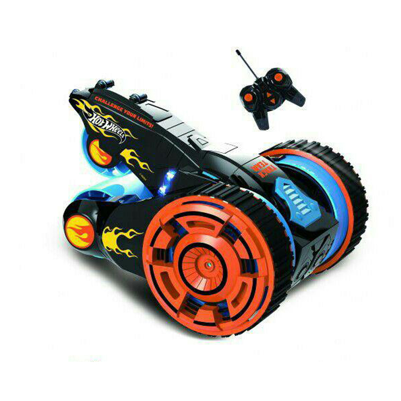Радиоуправляемая игрушка 1Toy Машина-перевёртыш Hot Wheels Т10967 Black