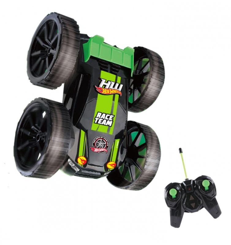 Радиоуправляемая игрушка 1Toy Машина-перевёртыш Hot Wheels Т10978 Black-Green