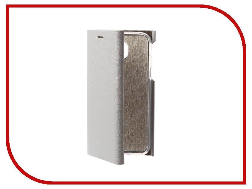 Купить Аксессуар Чехол Innovation для Samsung Galaxy J5 2017 J530F Ракушка Silicone Silver 11079