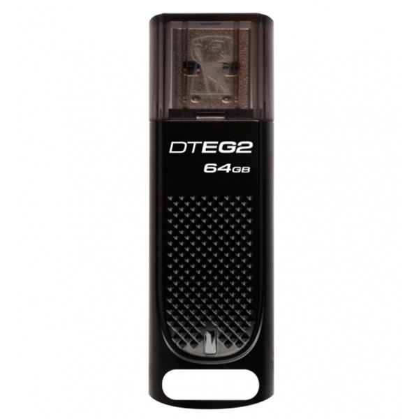 USB Flash Drive 64Gb Kingston DataTraveler Elite G2 Black (DTEG2/64GB)