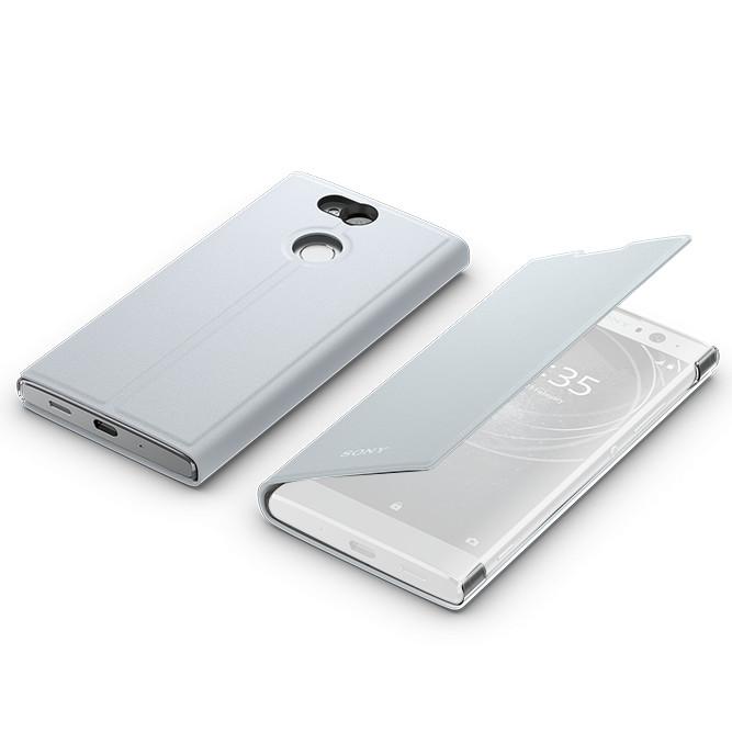 купить аккумулятор для sony xperia t3 Аксессуар Чехол для Sony Xperia XA2 Cover SCSH10 Silver