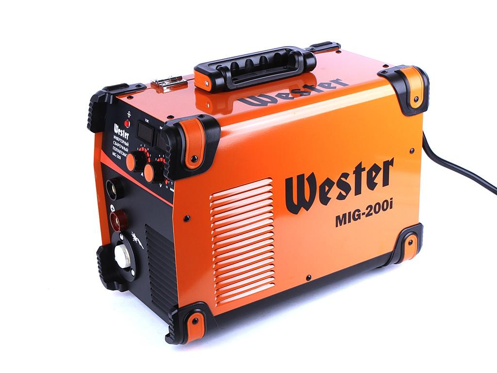 сварочный аппарат sturm aw97i125 Сварочный аппарат Wester MIG-200i