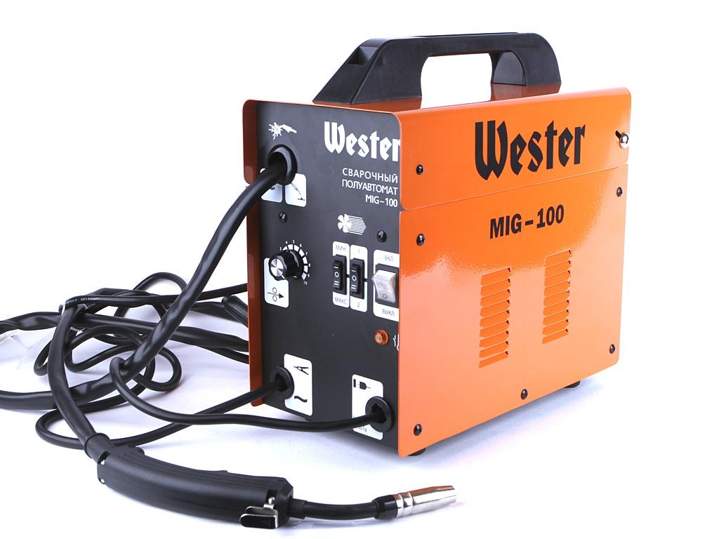 сварочный аппарат sturm aw97i125 Сварочный аппарат Wester MIG-100