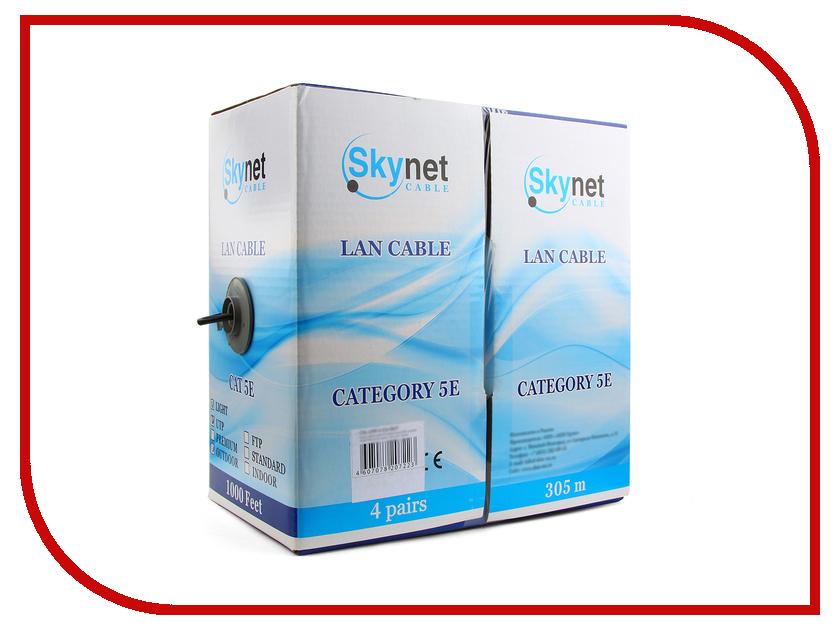 Купить Сетевой кабель SkyNet Standart UTP cat.5e 305m Outdoor Black CSS-UTP-4-CU-OUT