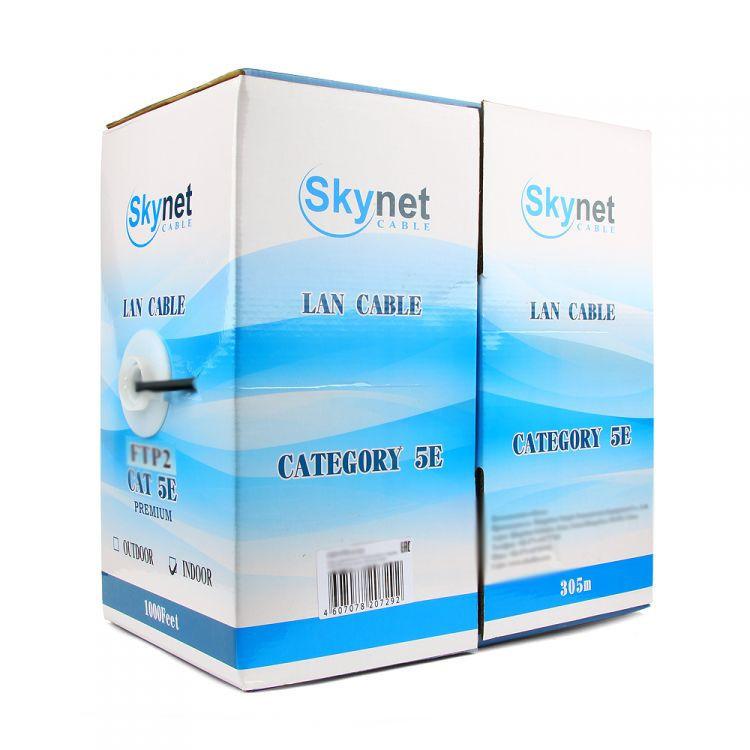 Сетевой кабель SkyNet Standart FTP cat.5e 305m Outdoor Black CSS-FTP-4-CU-OUT