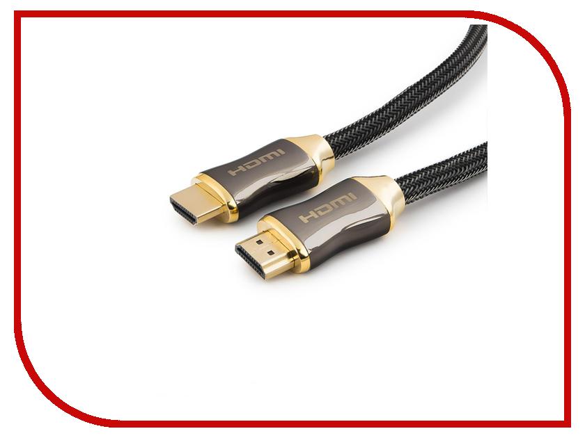 Купить Аксессуар Gembird Cablexpert Platinum HDMI M/M v2.0 1m CC-P-HDMI03-1M