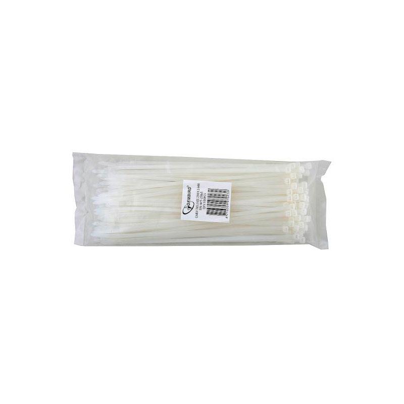 Стяжки пластиковые Gembird Cablexpert NYT-250x5 100шт  - купить со скидкой