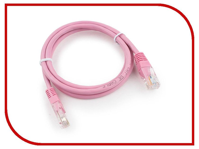 Купить Сетевой кабель Gembird Cablexpert UTP cat.5e 1m Pink PP12-1m