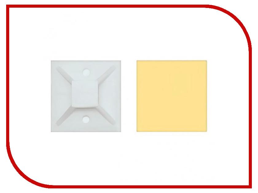 Купить Площадка под хомуты Gembird Cablexpert SAP-20 20x20mm самоклеящаяся White - 100шт