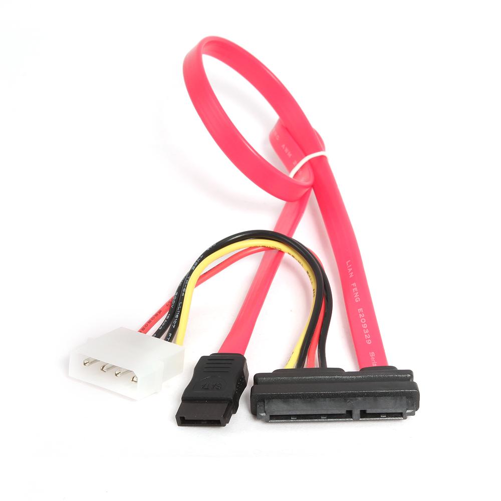 Аксессуар Кабель Gembird Cablexpert Combo Molex+SATA - SATA CC-SATA-C1