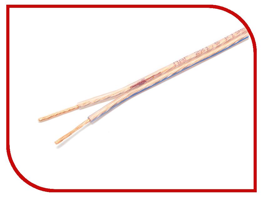 Купить Аксессуар Акустический кабель Gembird Cablexpert CC-TC2x1.5-30M 30m Transparent