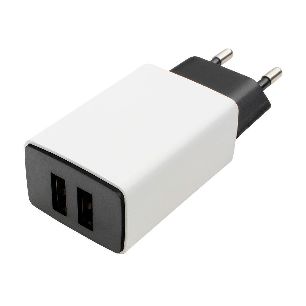 Зарядное устройство Gembird Cablexpert 2xUSB 2.1A MP3A-PC-15  - купить со скидкой